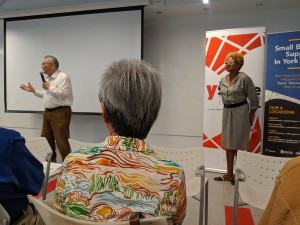 Steven Yu, Latter Day Saints; Paula Madison, President, New York Hakka Conference